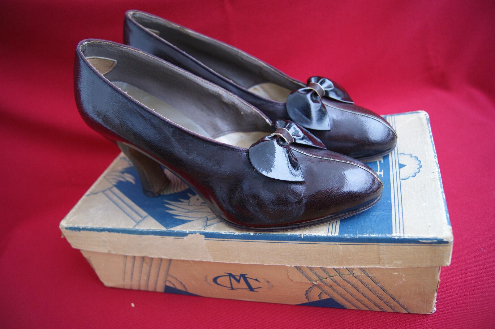 Frank C. Meyer Co. Inc. USA 1934/ANTICA 1934/ANTICA USA Pumps Scarpe/ORIG. ART DECO-BOX c225b9