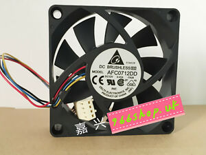 New and Original For Delta AFC0712DD Fan 70*70*20mm 12V 0.45A 4Pin