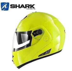 Casque-modulable-SHARK-Openline-Hi-Visibility-jaune-fluo-moto-scooter-Hi-vis
