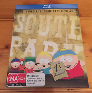 South-Park-Season-13-Blu-Ray-Region-B-Good-Condition