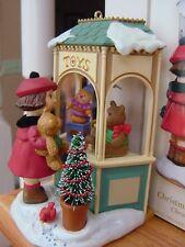 CHRISTMAS WINDOW 2006 HALLMARK Club Ornament #4 Little Girl looks in TOY STORE w
