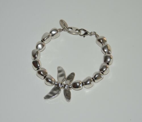 Pulsera de mariposa-uno diferente de 50-hecha a mano-pulsera cordon cuero