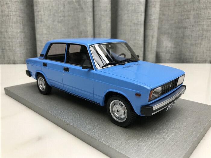 Russian car 1 18 Scale Lada VAZ 2105 light bluee edition Car