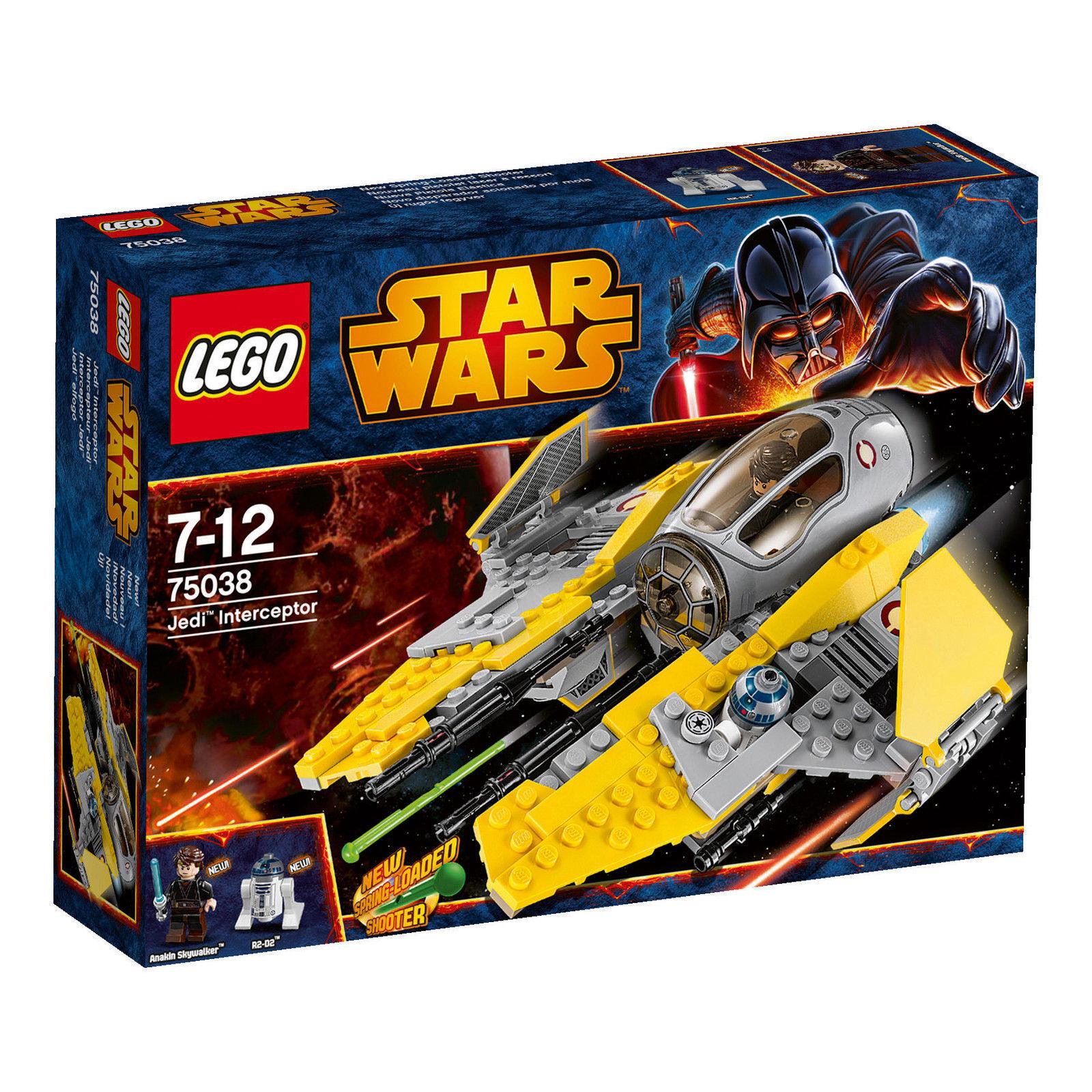 LEGO StarWars Jedi Interceptor (75038) NEU & OVP