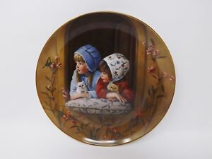 Reco-034-Sunday-Best-034-Collectible-Plate-Day-039-s-Gone-By-Collection