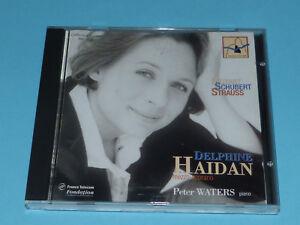CD-034-MOZART-SCHUBERT-STRAUSS-034-DELPHINE-HAIDAN-MEZZO-amp-P-WATERS-PIANO-TB-ETAT