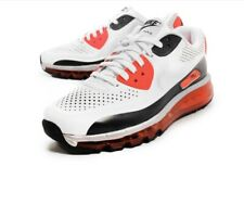 NIKE AIR MAX 90 2014 LEATHER QS SIZE 9 646909 100 WHITE