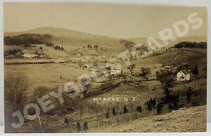 RPPC-MCAFEE-NJ-TOWN-VIEW-NEW-JERSEY-REAL-PHOTO-SUSSEX-COUNTY