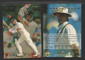 MARK WAUGH 1995 FUTERA CRICKET ASHES ELITE CARD No 5