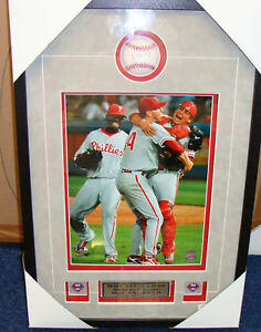 Roy Halladay Perfect Game 16x20 Auto Baseball Framed