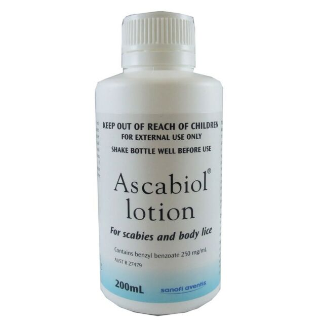 Ascabiol Lotion 200Ml For Scabies And Body Lice