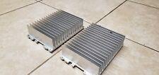 Two 2 Large Aluminum Heat Sink L X W X H 7 34 X 5 38 X 2