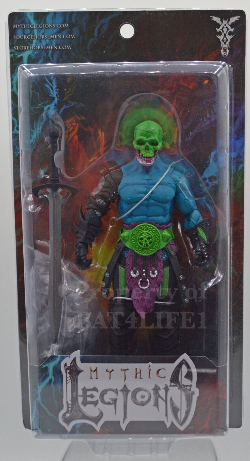 Power-Con 2019 Mythic Legions Kronnaw Four HorseSie Exclusive NEW   FREE S H