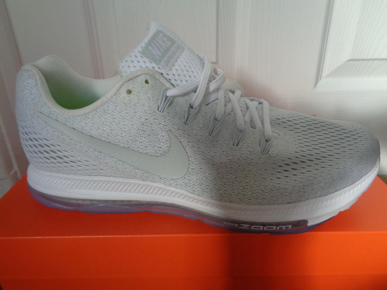 Nike Zoom todos bajo Tenis Zapatos 878670 101 nos 8 Nuevo Nuevo 8 + Caja f69681