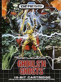 Ghouls 'n Ghosts (Sega Genesis, 1989) for sale online | eBay