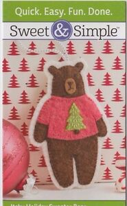 PATTERN-Itchy-Holiday-Sweater-Bear-cute-and-easy-decoration-PATTERN