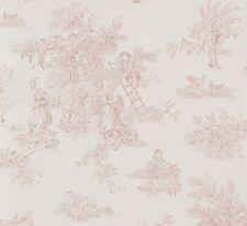 Papiertapete weiß beigebraun Landhaus Petite Fleur Rasch Textil 295114 (1,30€/1q