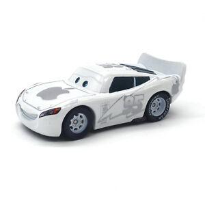 MT Cars White Apple Lightning McQueen Diecast Toy Car 1:55 ...