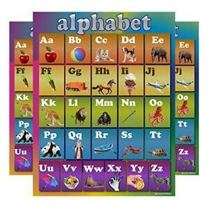 Learning Rainbow Alphabet Abc Chart Laminated Classroom Poster Ebay Content tagged with abc chart. details about learning rainbow alphabet abc chart laminated classroom poster
