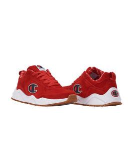 78df8c7d688 CHAMPION 93 EIGHTEEN BIG C Red Men s Sneaker CM100105M NEW Lifestyle ...
