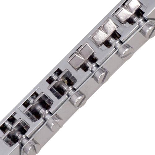 E Gitarre Roller Sattel Brücke Saitenhalter mit 3L3R Sealed Gear Tuners