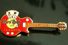HRC Hard Rock Cafe Jakarta New Year 1999 Crown Guitar