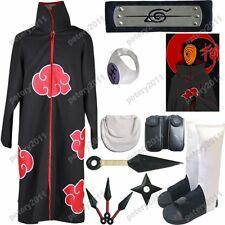 Naruto Akatsuki cloak tobi Cosplay Costume