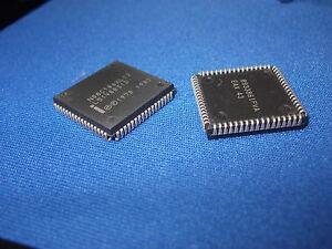 PLCC-68 80C186 IC MPU 16-BIT Microprocessor 5V 12MHz 1x INTEL  N80C186XL-12