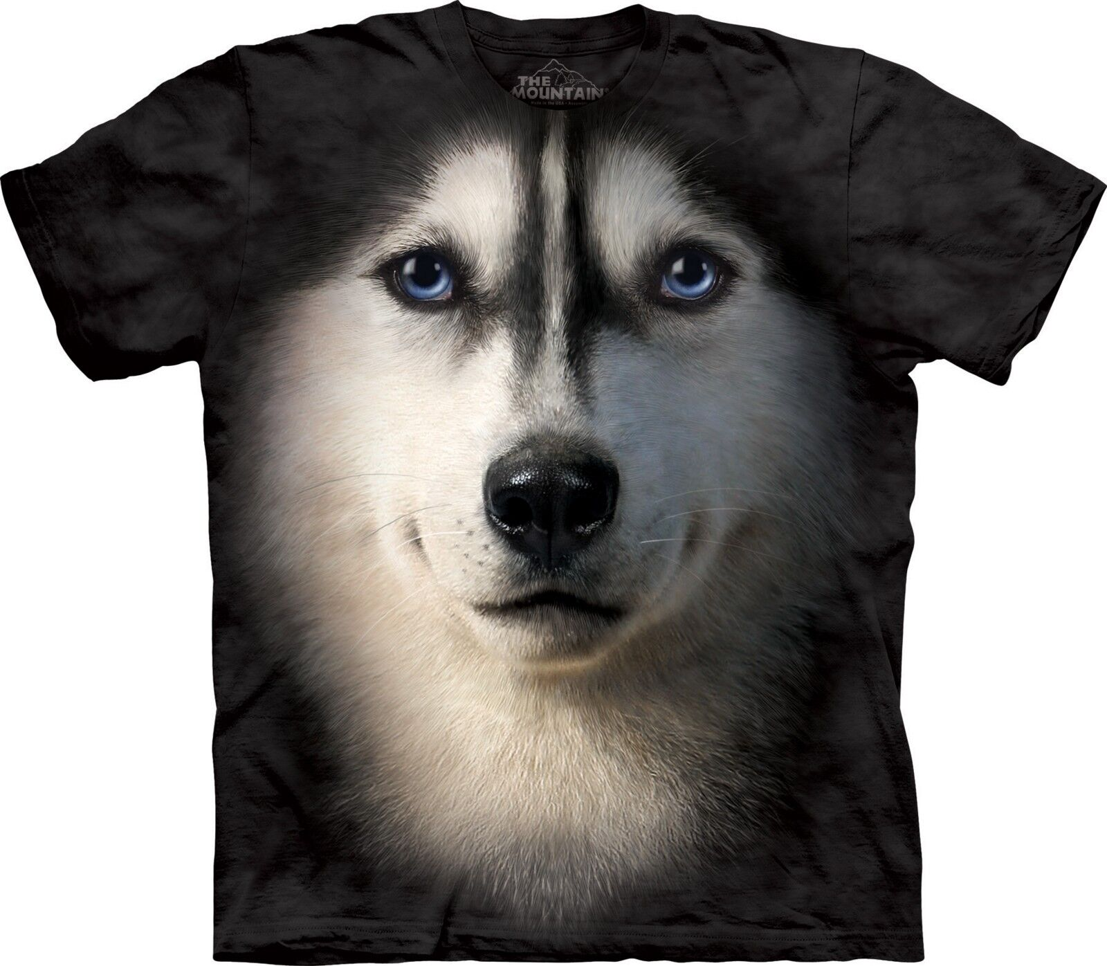 Siberian Face Dogs T Shirt Adult Unisex The Mountain
