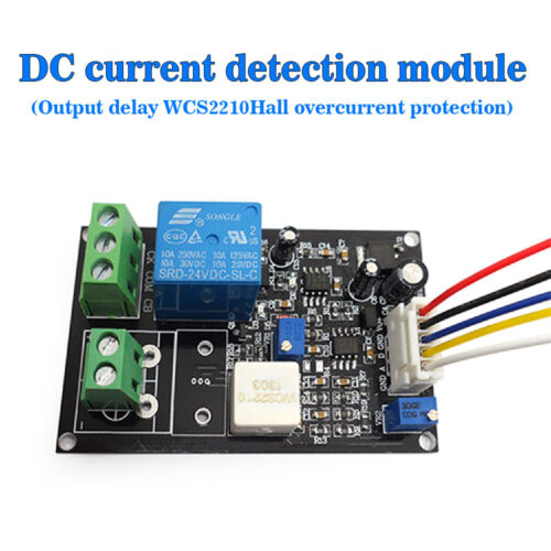 USA Output Delay DC Current Detection Module WCS2210 Series Hall Overcurrent