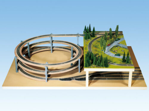 Grundkreis   Neuware Noch N 53027 LAGGIES Gleiswendel-Komplettbausatz