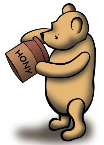 """6.5/"""" 10.5/"""" Disney Classic Pooh Hony mur Safe Autocollant Border ajourées personnage"""