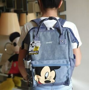 Anello-Mickey-Limited-Edition-Backpack-Denim