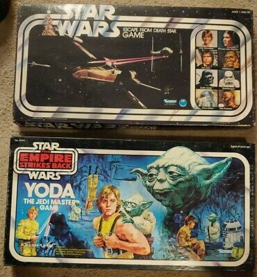 Vintage Star Wars Yoda Jedi Master & Escape Death Star ...