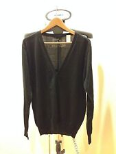 100% Authentic Miss Sixty Energie Men's Black Wool  Thin Sweater Size XL NEW