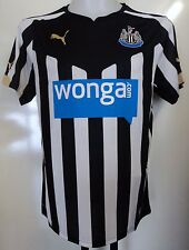 NEWCASTLE UNITED 2014/15 S/S HOME SHIRT BY PUMA ADULTS XL BRAND NEW WITH TAGS