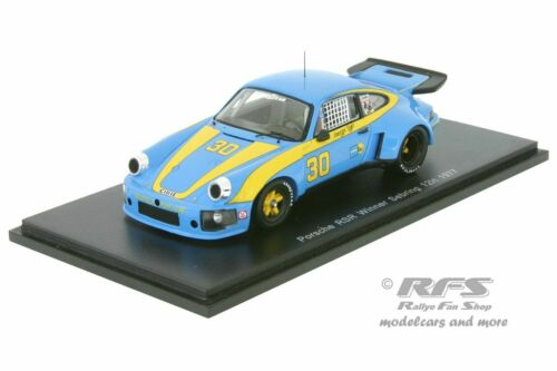 Porsche 911 Carrera RSR 12h Sebring 1977  Dyer Frisselle 1:43 Spark 43SE77