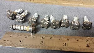 Details about 12pc M12 Square Gothic Decorative Screws Blacksmith Rustic  Antique Lag Bolts Set