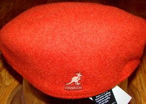 Red  KANGOL  Wool  504  Ivy  Cap