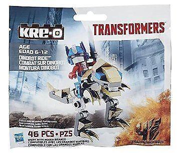 Kre-o Optimus Prime and Grimlock Dinobot Ride Transformers