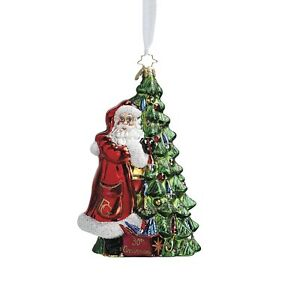 christopher radko 30th anniversary christmas ornament santa tree