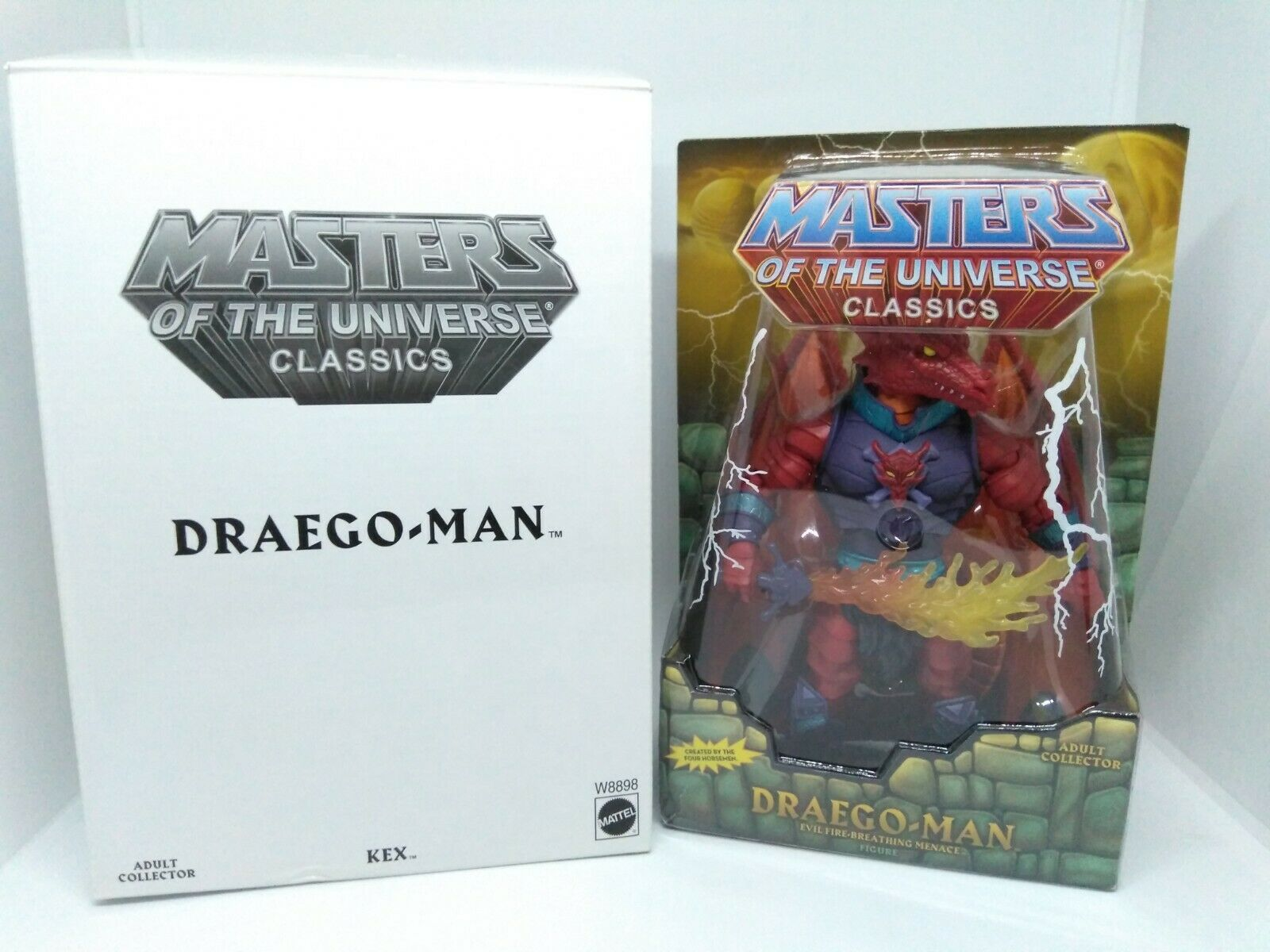 MOTUC Masters of the Universe Classics Draego Man Loose with box complete