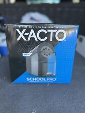X Acto 1670x School Pro Electric Pencil Sharpener Black