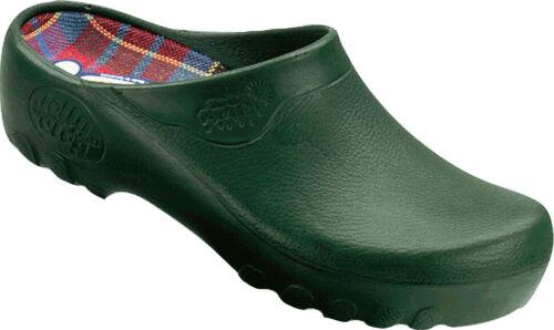 Freizeitschuhe Hausschuhe Alsa Jolly Fashion Clog grün EU 35-47