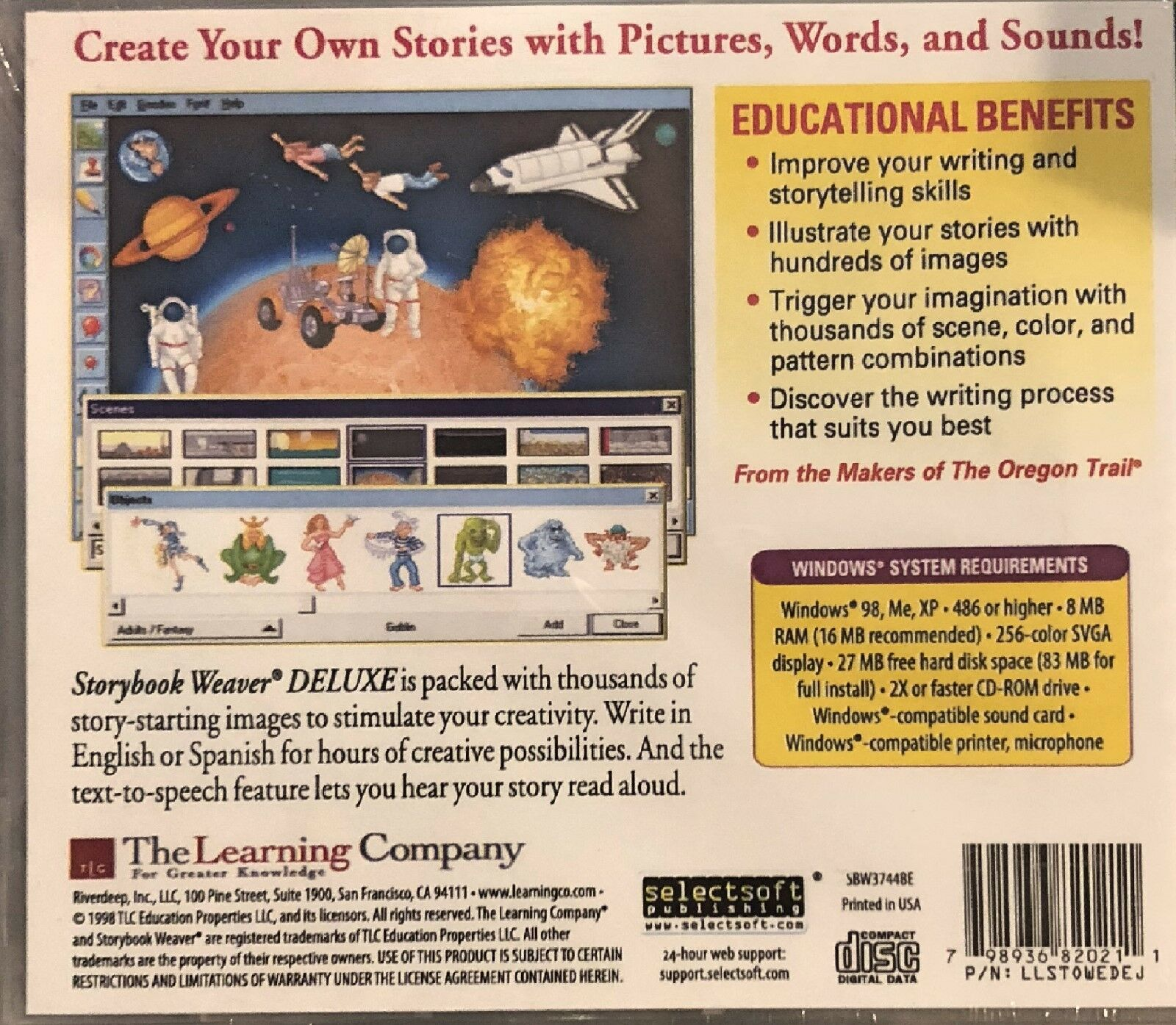 Storybook Weaver Deluxe (Mac and Windows)