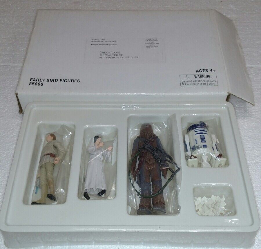STAR WARS EARLY BIRD FIGURES  85868 IN SHIPPING BOX NRW