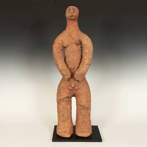 ANTIQUE-STANDING-FIGURE-BANKONI-TERRACOTTA-SIKASSO-MALI-WEST-AFRICA-15TH-C