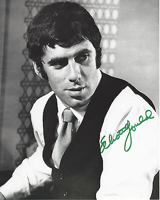Elliott Gould Signed Authentic 'ocean's Eleven' 8x10 Photo B W/coa Actor Mash Photographs Movies