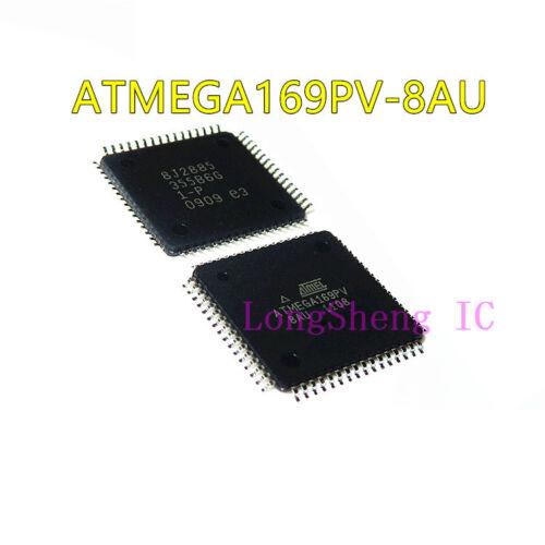 5PCS  ATMEGA169PV-8AU ATMEGA169PV TQFP-64 Microprocessor NEW