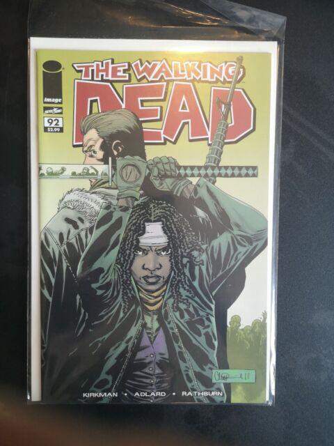 Walking Dead First Print #92 First Jesus TWD Kirkman